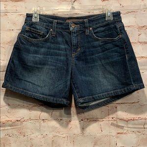 Joes Jeans Edlyn shorts dark wash sz 25